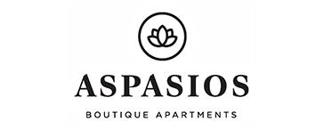 Logo Aspasios Boutique Apartments cliente de Revenue Control Data